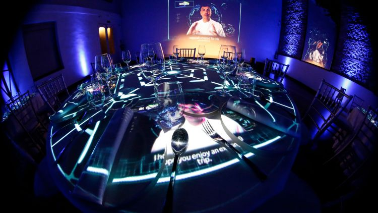 Cena Video Mapping